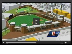 High Point Ballpark Rendering Fro WXll 12