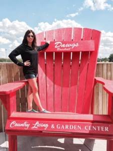 A throne fit for a king of ballpark attendance in Canada? Okotoks Dawgs Facebook photo