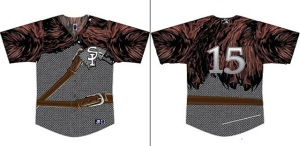 Staten Island Yankees Game of Thrones Jerseys 1