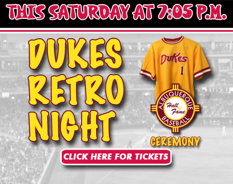 Albuquerque Isotopes Dukes Night