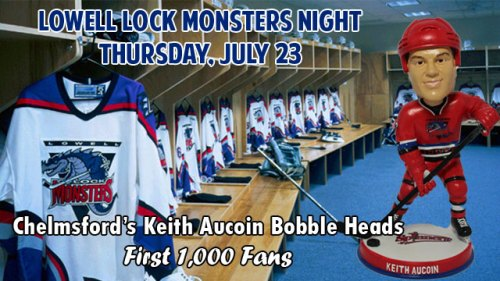 Lowell Spinners Lowell Lock Monsters Night