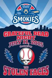 Tennessee Smokies Grateful Dead Night