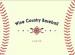 Wine Country Baseball Logo