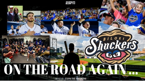 Biloxi Shuckers On The Road Again