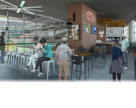 Cleveland Indians Second Phase Renovations Rendering 2