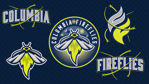 Columbia Fireflies Logos