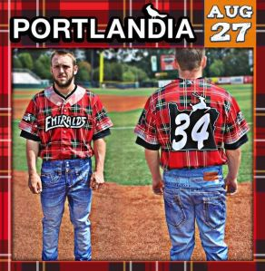 Eugene Emeralds Portlandia Night