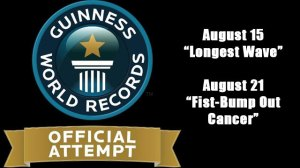 Lowell Spinners Guiness Book of World Records Attempts