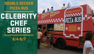 Madison Mallards Pizza Bus and Celebrity Chef