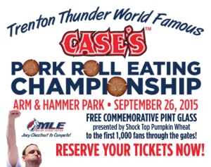 Trenton Thunder Port Roll Easting Contest