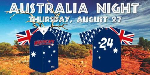 West Michigan Whitecaps Australia Night