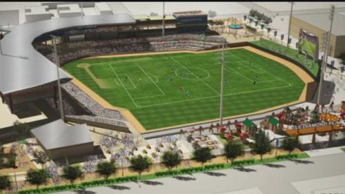 Amarillo Ballpark Rendering