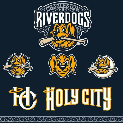Charleston RiverDogs Refreshed Logos