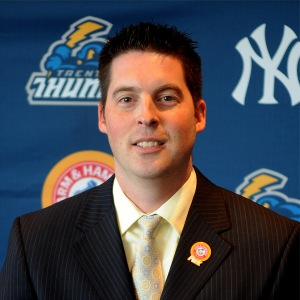 Trenton Thunder Name New GM