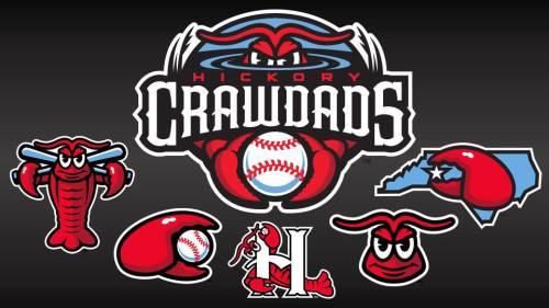 Hickory Crawdads New Branding