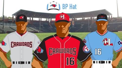 Hickory Crawdads New Uniforms