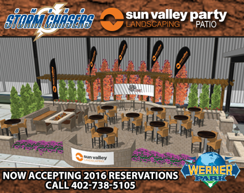Omaha Storm Chasers Sun Valley Party Patio