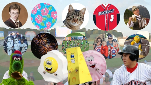 Lakewood BlueClaws 2016 Promotions