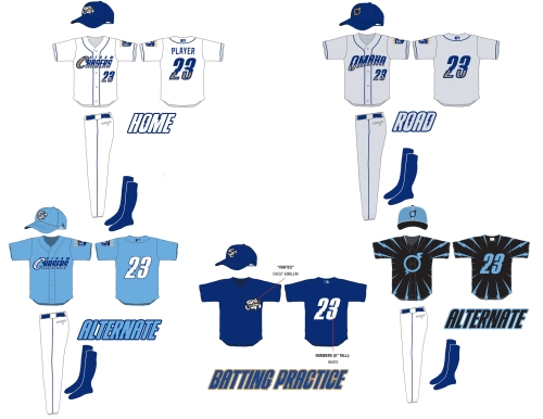 Omaha Storm Chasers New Unis