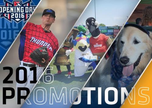 Trenton Thunder 2016 Promotions