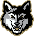 Gresham Gray Wolves Head