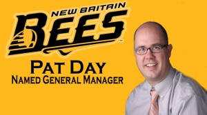 New Britain Bees New GM Pat Day