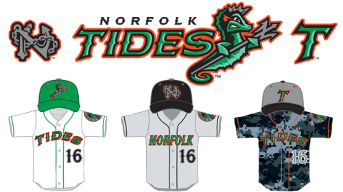Norfolk Tides New Branding