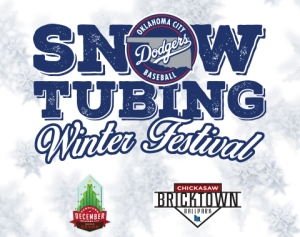 Oklahoma City Dodgers Snow Tubing Winter Festival