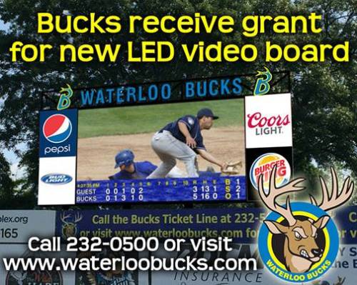 Waterloo Bucks New Video Board