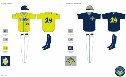 Columbia Fireflies Alternative Unis
