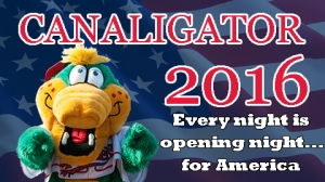 Lowell Spinners Canaligator for Prez