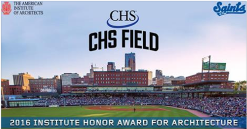 St. Paul Saints CHS Field AIA Award