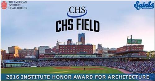 St. Paul Saints CHS Field AIA Award