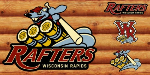 Wisconsin Rapids Rafters New Logo Designs