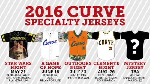 Altoon Curve 2016 Specialty Jerseys