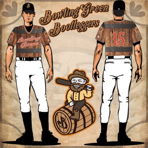 Bowling Green Hot Rods Bootleggers 1