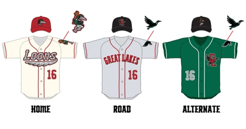 Great Lakes Loons New Unis