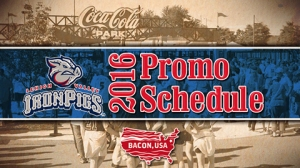 Lehigh Valley IronPigs 2016 Promo Schedule