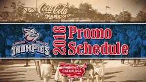 Lehigh Valley IronPigs 2016 Promo Schedule