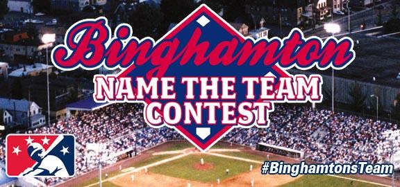 Binghamton Mets Name the Team Contest