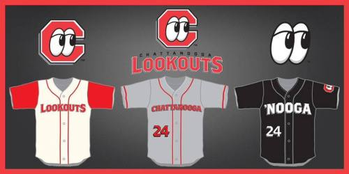 Chattanooga Lookouts New Unis