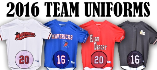 High Desert Mavericks New Unis