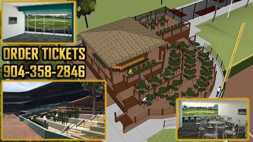 Projects totaling more than $1.8 million invested by Suns ownership, Jacksonville Baseball, LLC, are scheduled for completion by Opening Day.