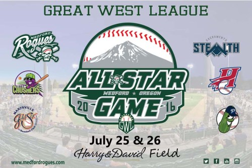 Medford Rogues GWL All-Star Game