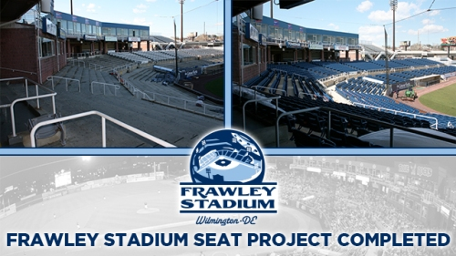 Wilmington Blue Rocks New Seating