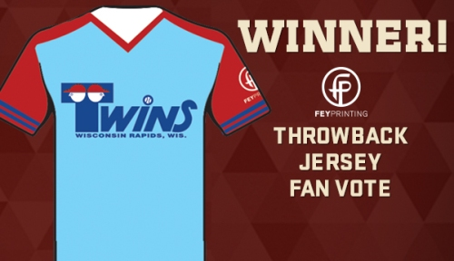 Wisconsin Rapids Rafters Twins Jersey
