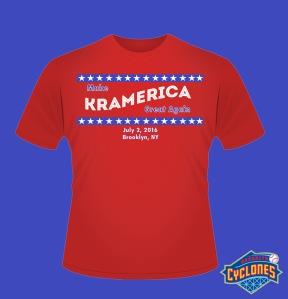 Brooklyn Cyclones Seinfeld III - Kramerica T-Shirt