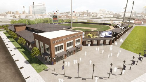 Detroit PAL Stadium Rendering