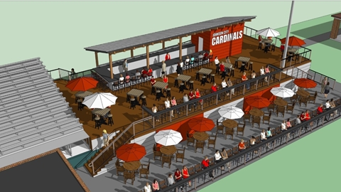 Johnson City Cardinals Deck Rendering