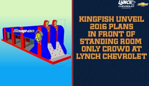 Kenosha Kingfish Front of Standing